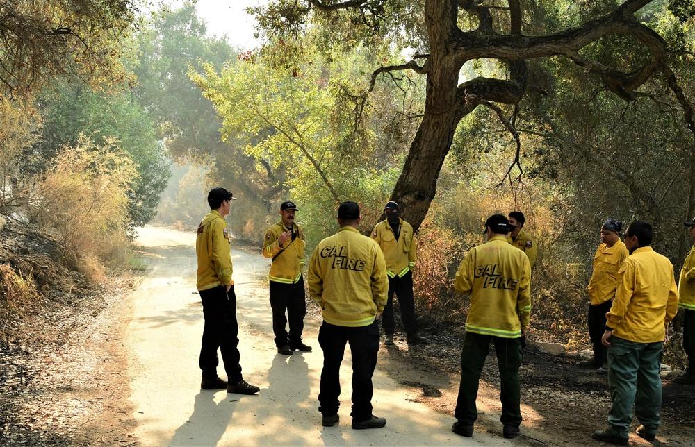 JTF Rattlesnake builds safety around Carmel Fire perimeter