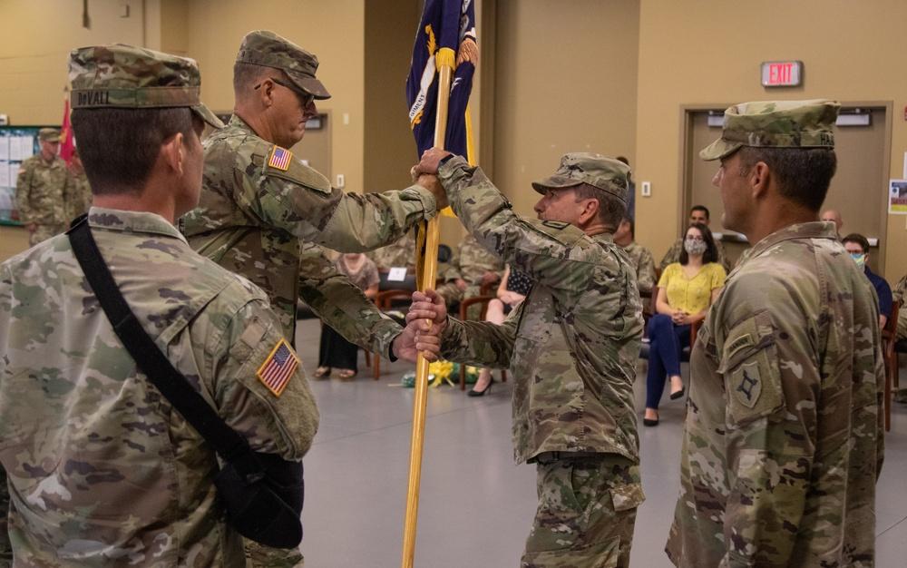 211th Regional Training Institute Change of Command Ceremony
