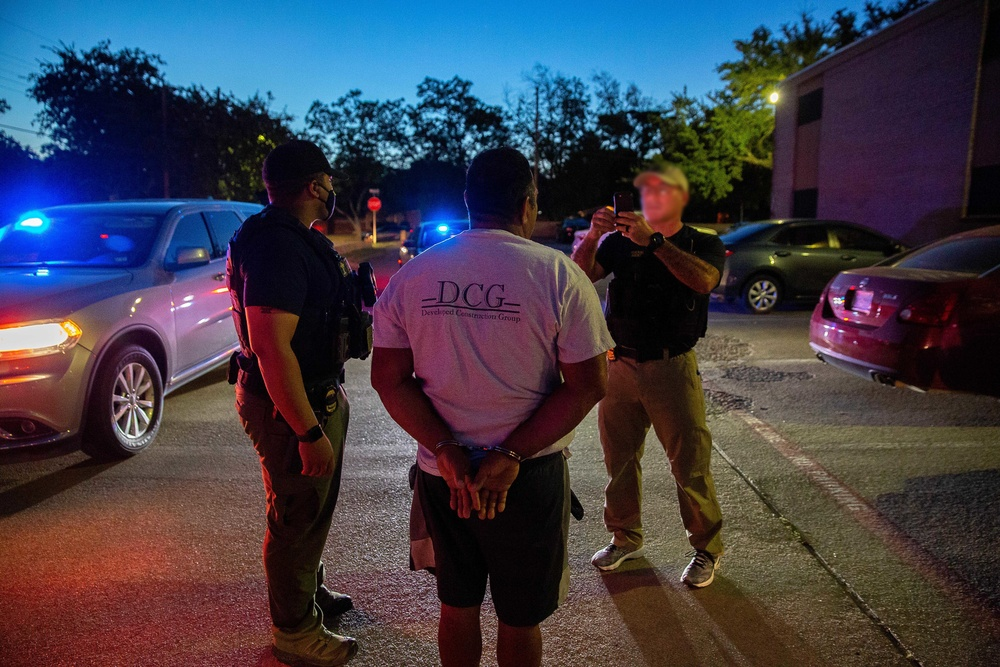 Targeted Enforcement Operation - Dallas, Texas