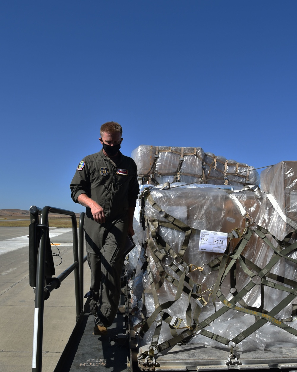 Airmen perform first Reserve-lead KC-46 cargo load mission