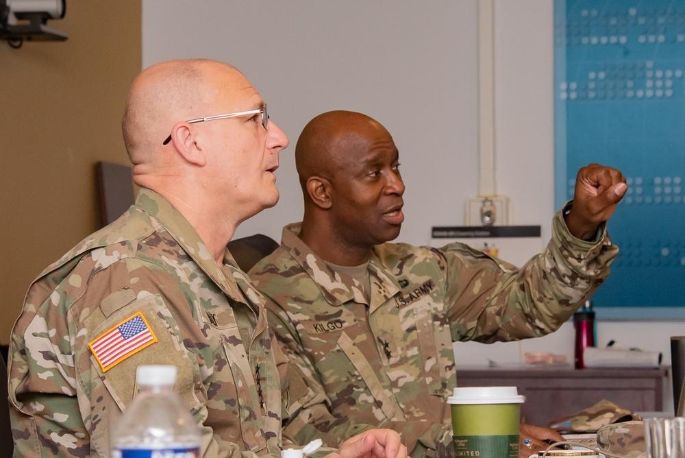 Gen. Ed Daly and Maj. Gen. Mitch Kilgo