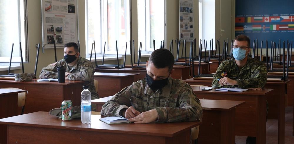Canadian, U.S. Forces study exercise design in Ukraine