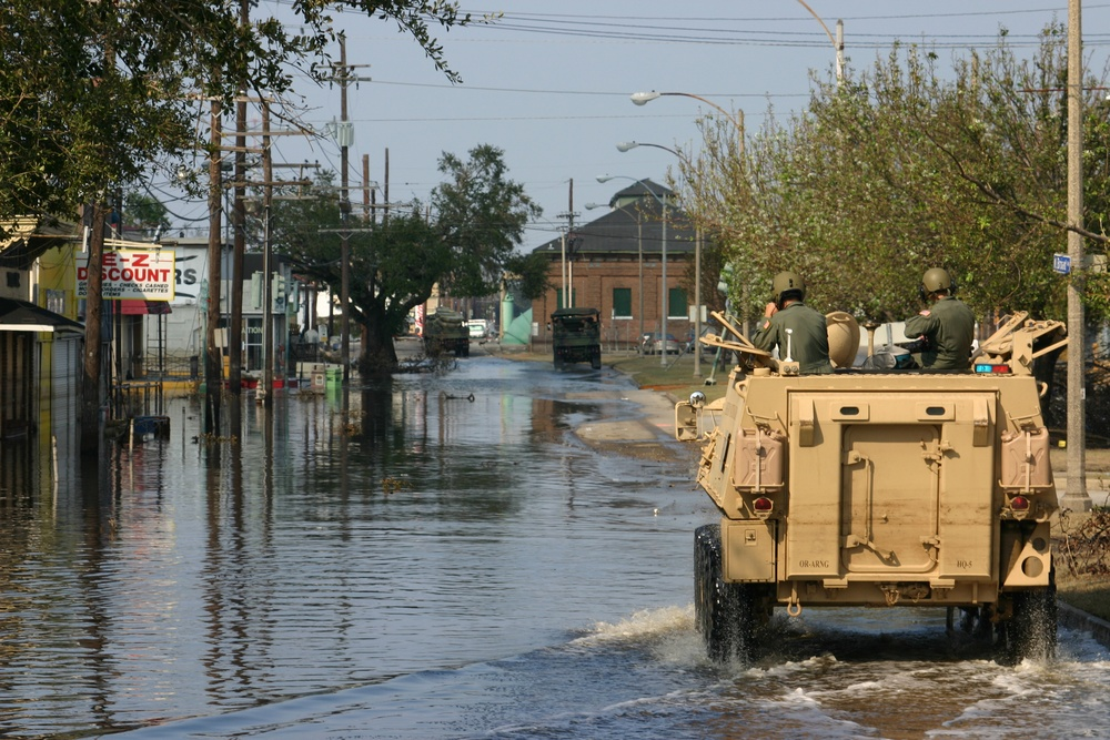15 Years Later: The Oregon National Guard Remembers Hurricane Katrina