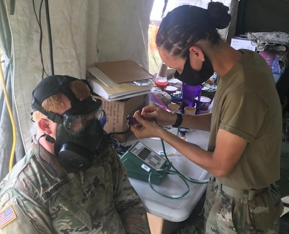 316th ESC's 462nd MCB conducts Operation Paymaster during COVID-19