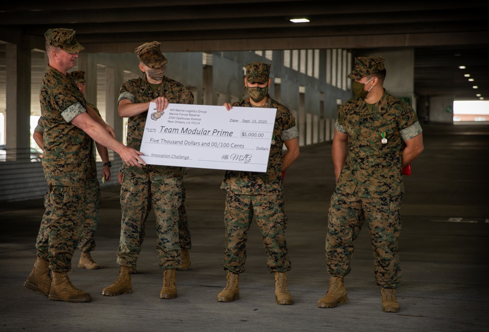 Task force Marines place first in innovation challenge