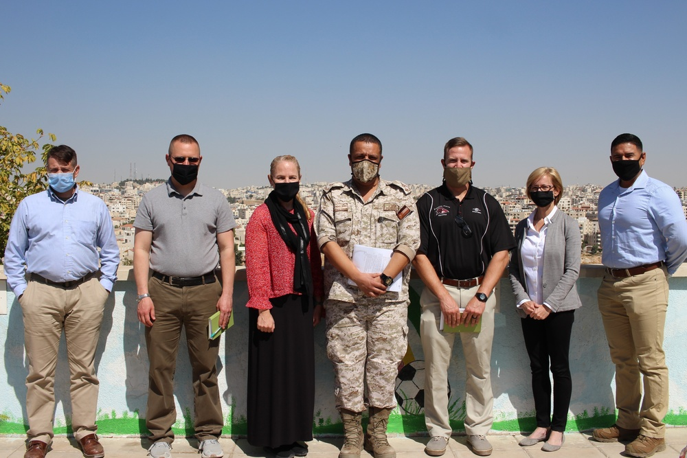 3rd Medical Command and the Jordanian Royal Medical Services exchange lessons on COVID-19