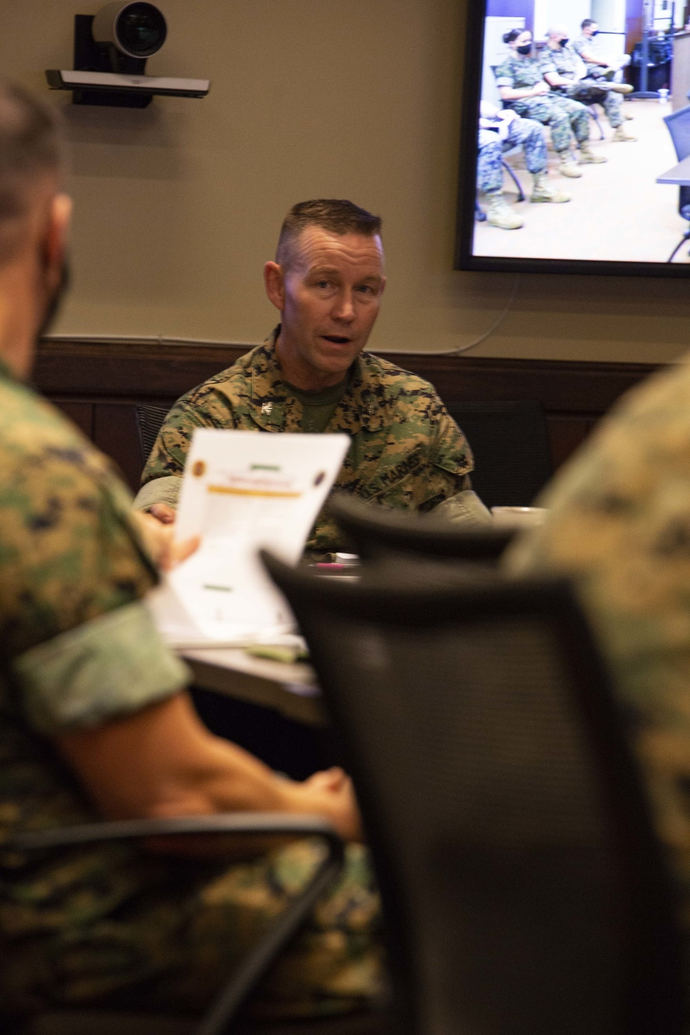 MCSFR Commander Conference Meeting