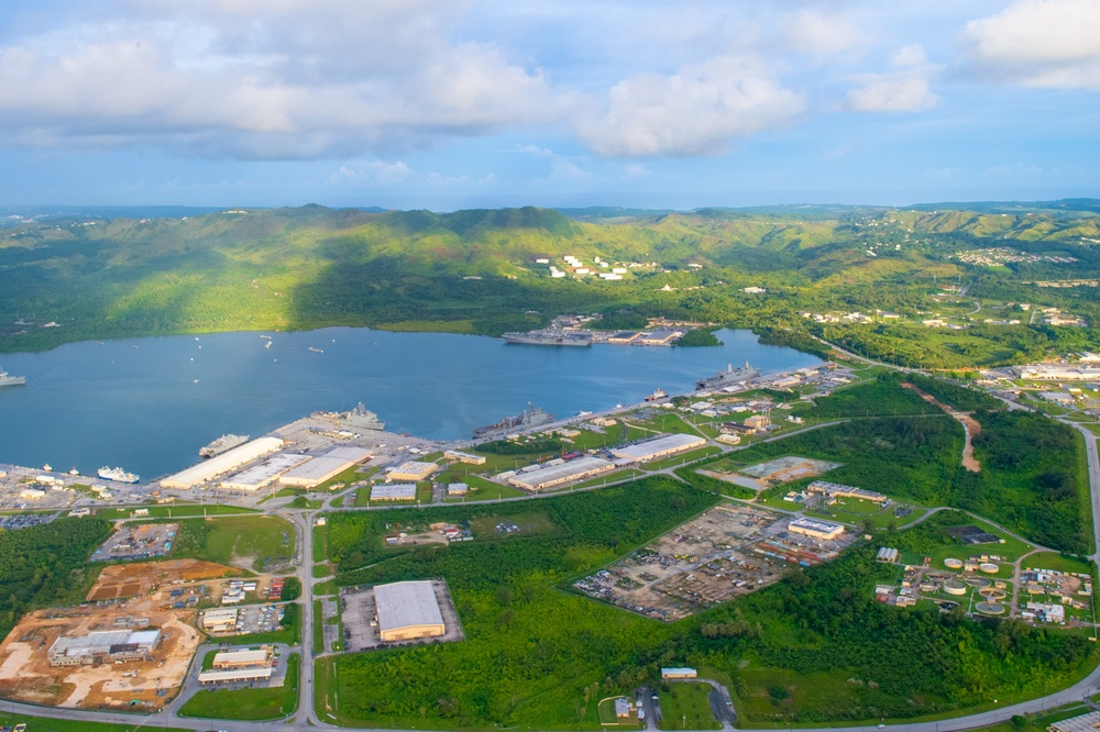 America Expeditionary Strike Group at Naval Base Guam
