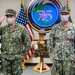 CTF 75 Hold Change of Command Ceremony
