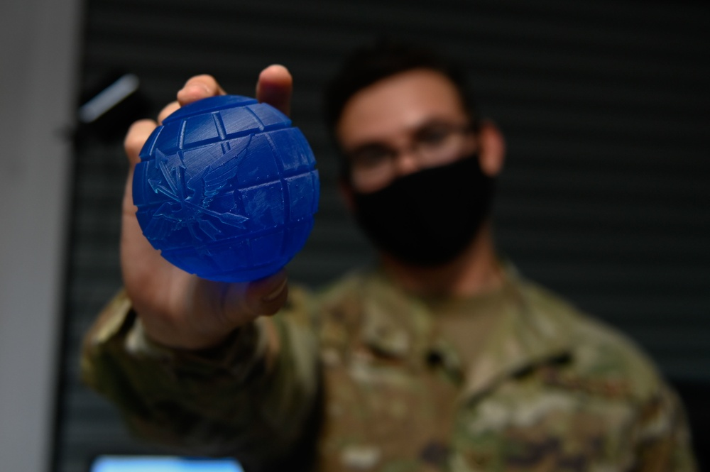 TCC donates 3D printers to Phoenix Spark, aids in base COVID care and Airman innovation
