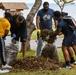 U.S. Navy Sailors and Dependents Cleanup Lake Ogawara