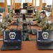 Pennsylvania National Guard members practice guarding networks against cyber attacks