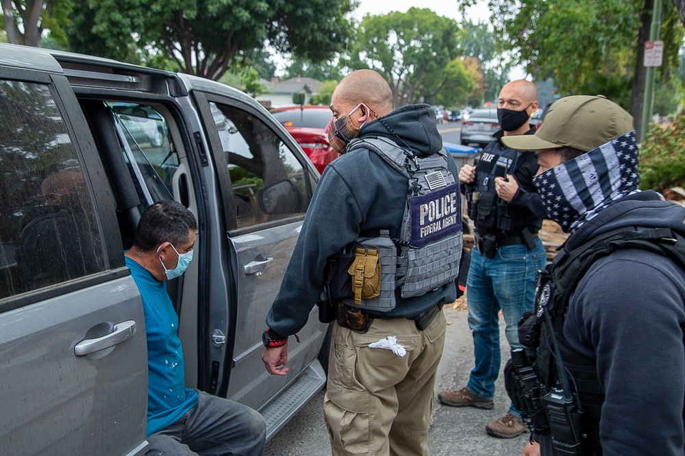 DHS announces ICE enforcement actions on criminal aliens released due to California sanctuary policies