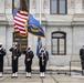 Navy flag raising ceremony at Philadelphia City Hall
