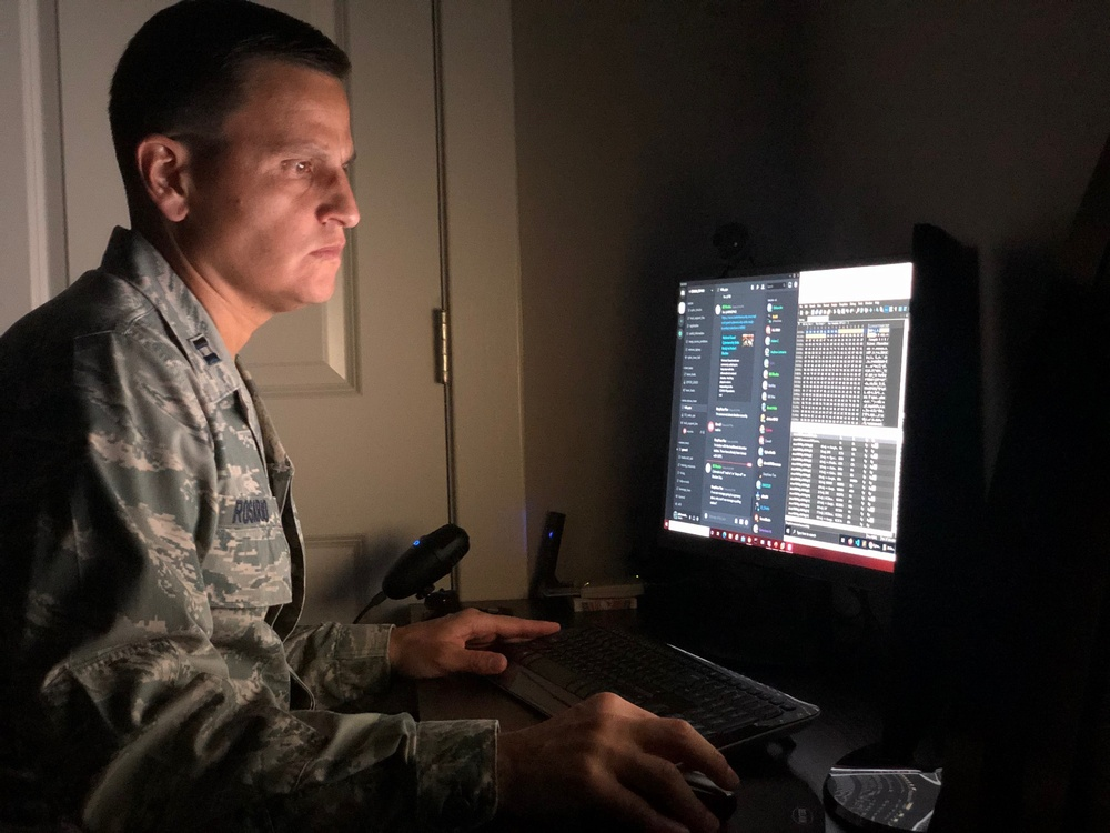 Maryland Airmen gain experience in national cyber exercise