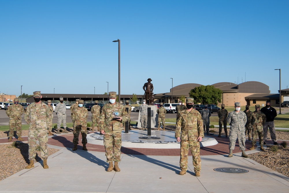 Oklahoma Air National Guard squadron receives unit of the year award