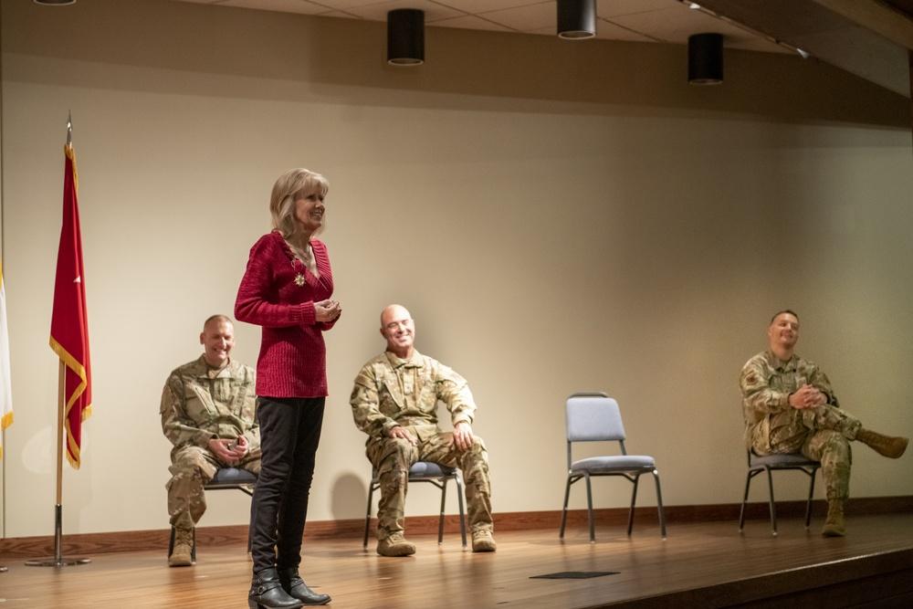 Campbell receives Legion of Merit