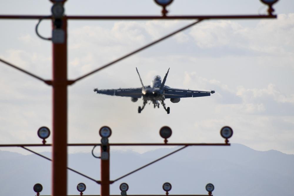 VAQ-131 EA-18G Growler Lands