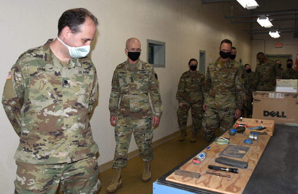 DHA Director visits AFMES