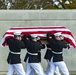 Modified Funeral Honors with Funeral Escort are Conducted for U.S. Marine Corps Reserve Pvt. 1st Class Charles Miller in Section 60