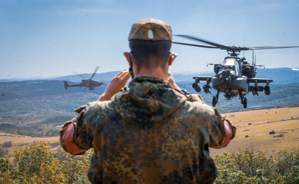 12th CAB supports Bundeswehr JTAC training at Baumholder