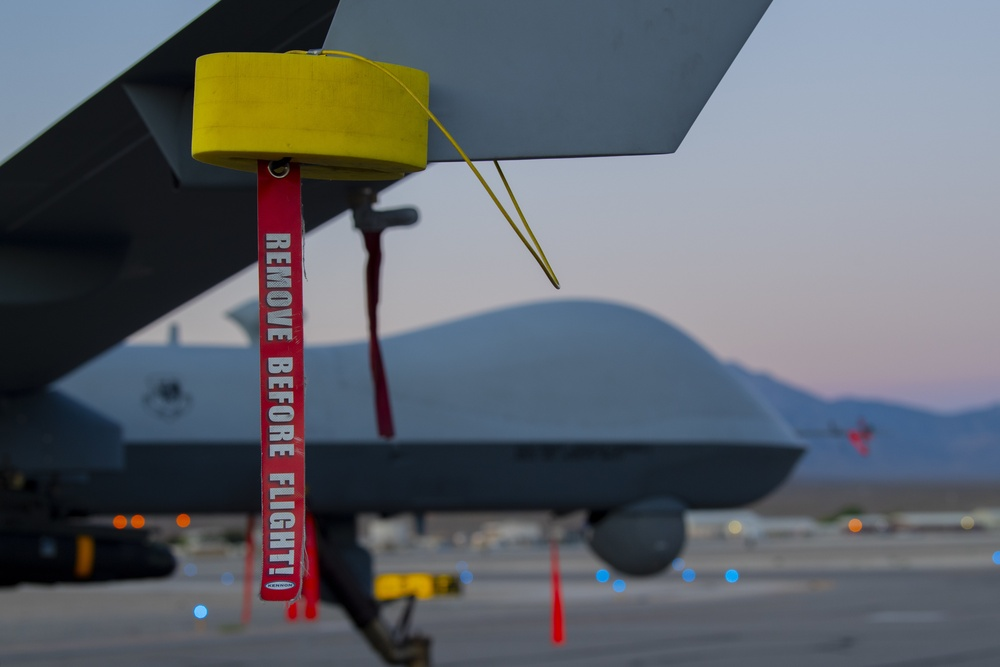 556 TES tests 8 hellfire missiles on MQ-9 Reaper