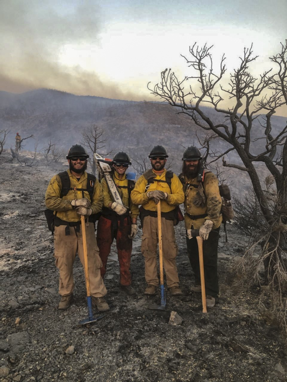 1864th Soldier fights wildfires and COVID with the Nevada Guard
