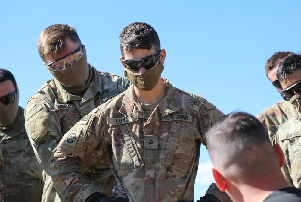 First Woman Earns Expert Infantryman Badge in 2SBCT