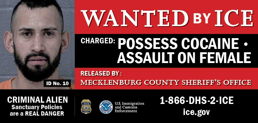 ICE launches billboards in Charlotte featuring at-large public safety threats