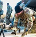 U.S. Army Soldiers conduct weapons training during EIB/ESB