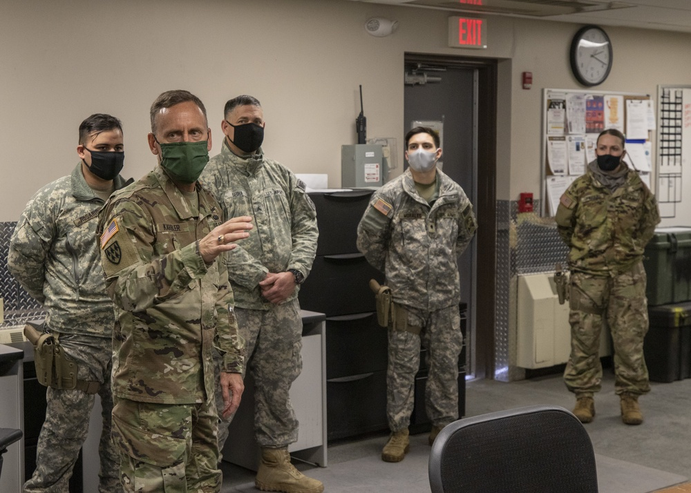 SMDC commanding general visits Fort Greely