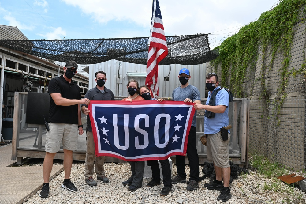USO delivers 3 millionth USO care package