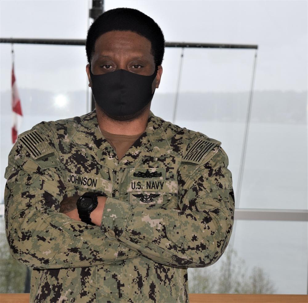 I Am Navy Medicine: Hospital Corpsman 3rd Class (SW/AW) Anthony Johnson