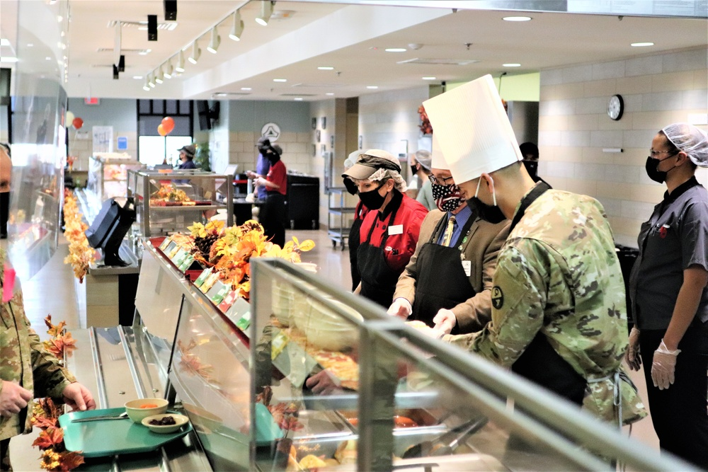 2020 Thanksgiving meal for service members, families at Fort McCoy