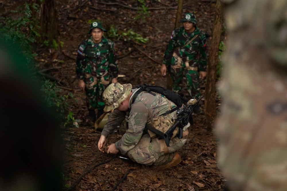 Indonesia Platoon Exchange: Jungle Casualty Evacuation