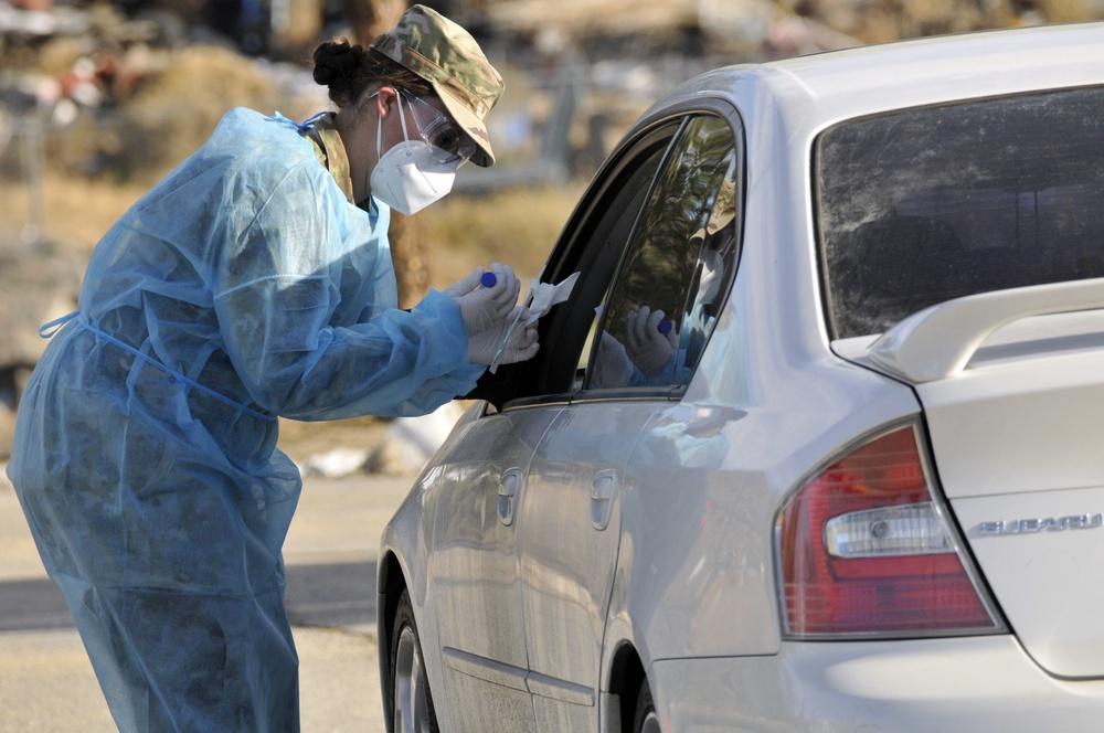 Relentless coronavirus battle continues for Nevada Guard