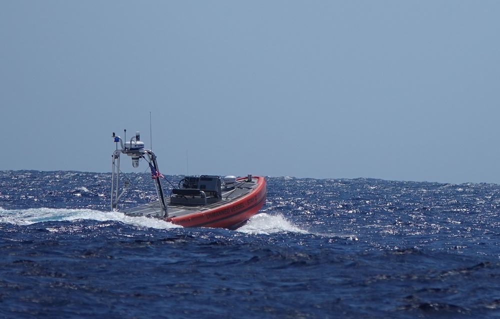 Coast Guard completes 30 day test of unmanned surface vehicles off Hawaii