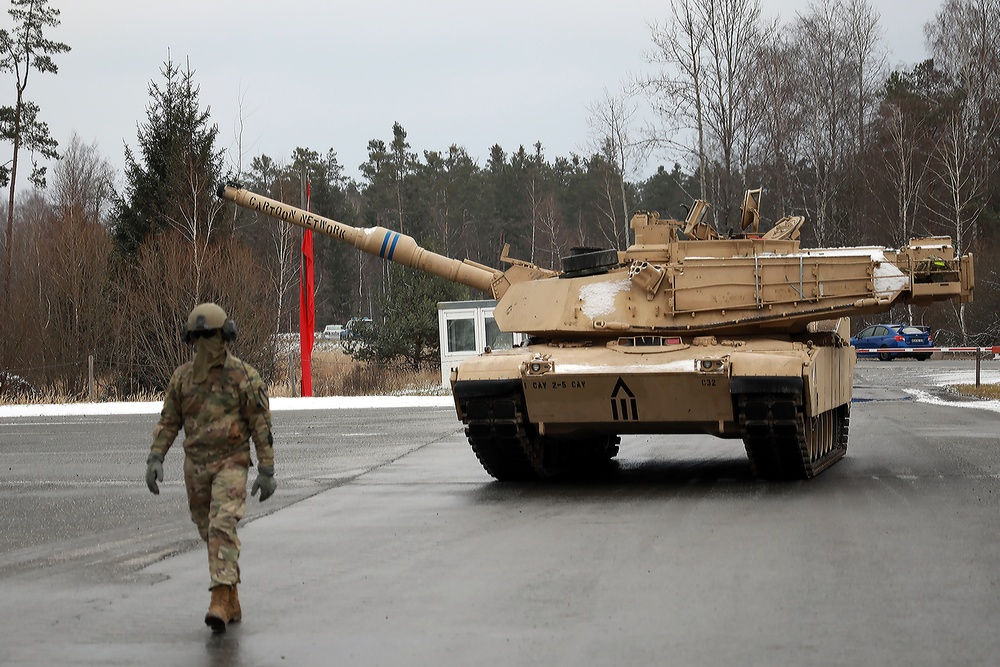 M1 Abrams Ground Guide