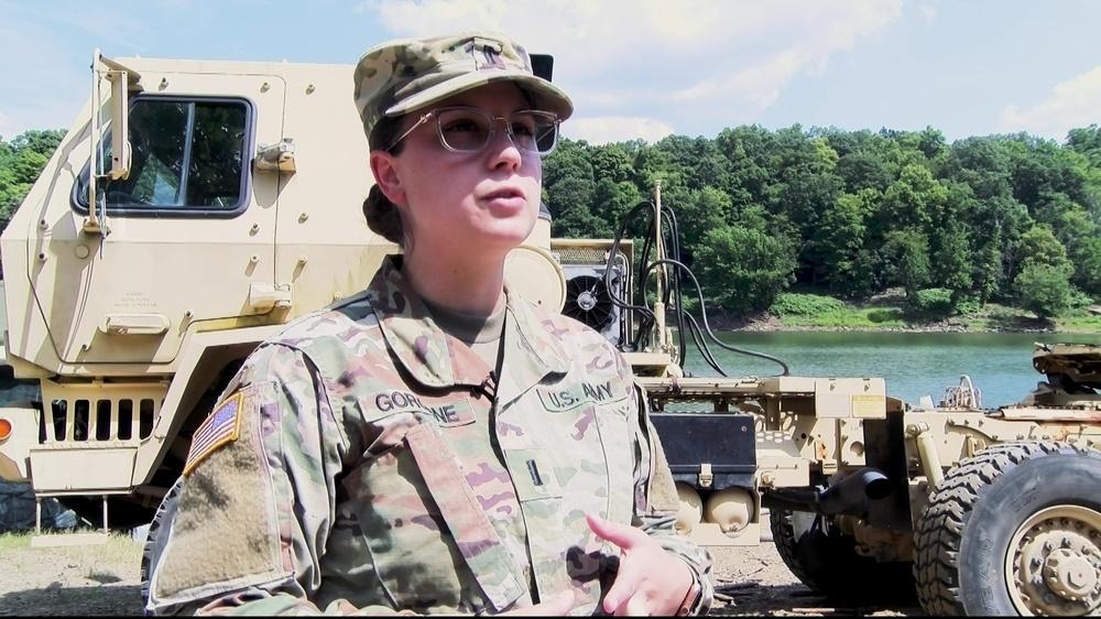 316th ESC Company Commander Creates Collective Training Event in the Wake of COVID-19