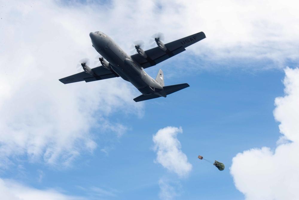 Operation Christmas Drop 2020 Practice Drops