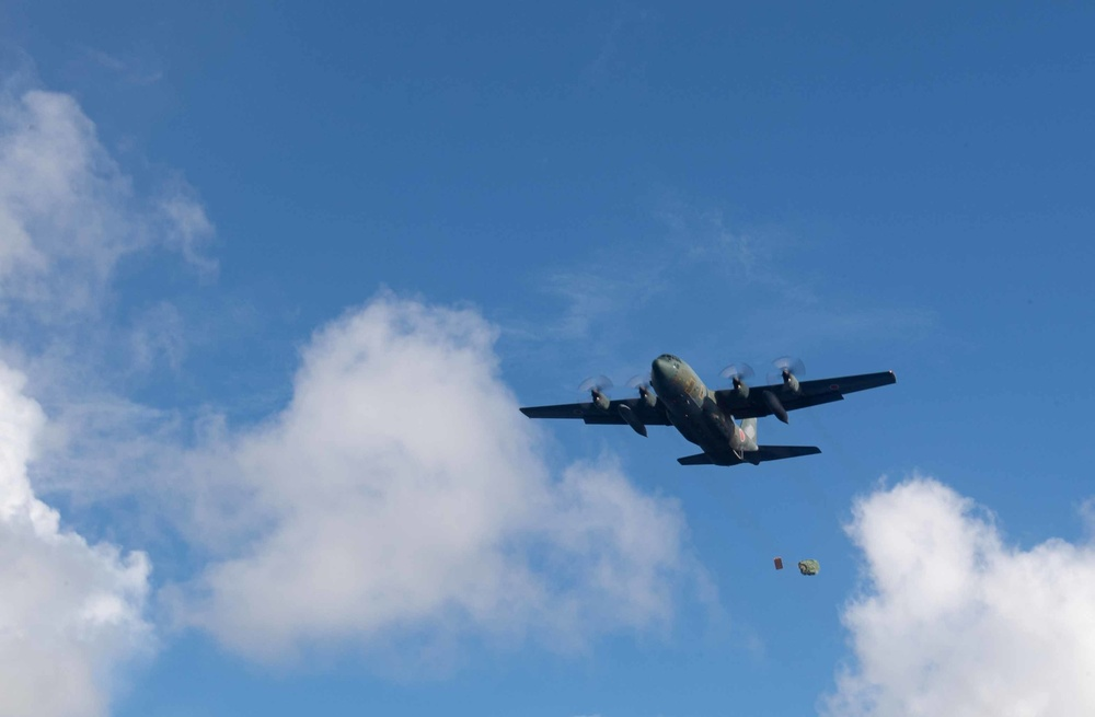 Operation Christmas Drop 2020 JASDF Practice Drop