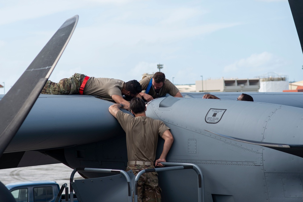 Operation Christmas Drop 2020; Behind-The-Scenes with 374th AMXS