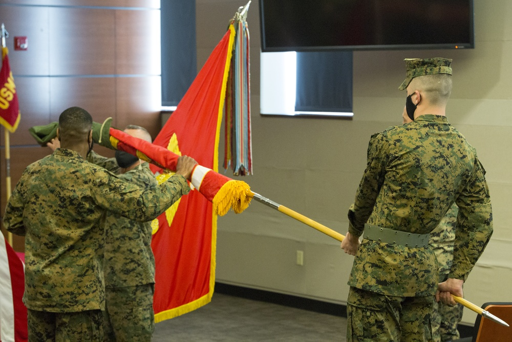 U.S. Marine Corps Forces Northern Command Transfer of Authority to U.S. Marine Corps Forces Command