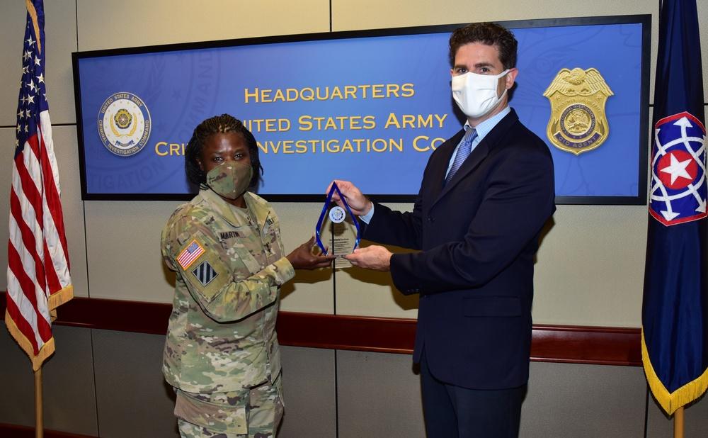 CID CIO Receives Top DOD Cyber Award