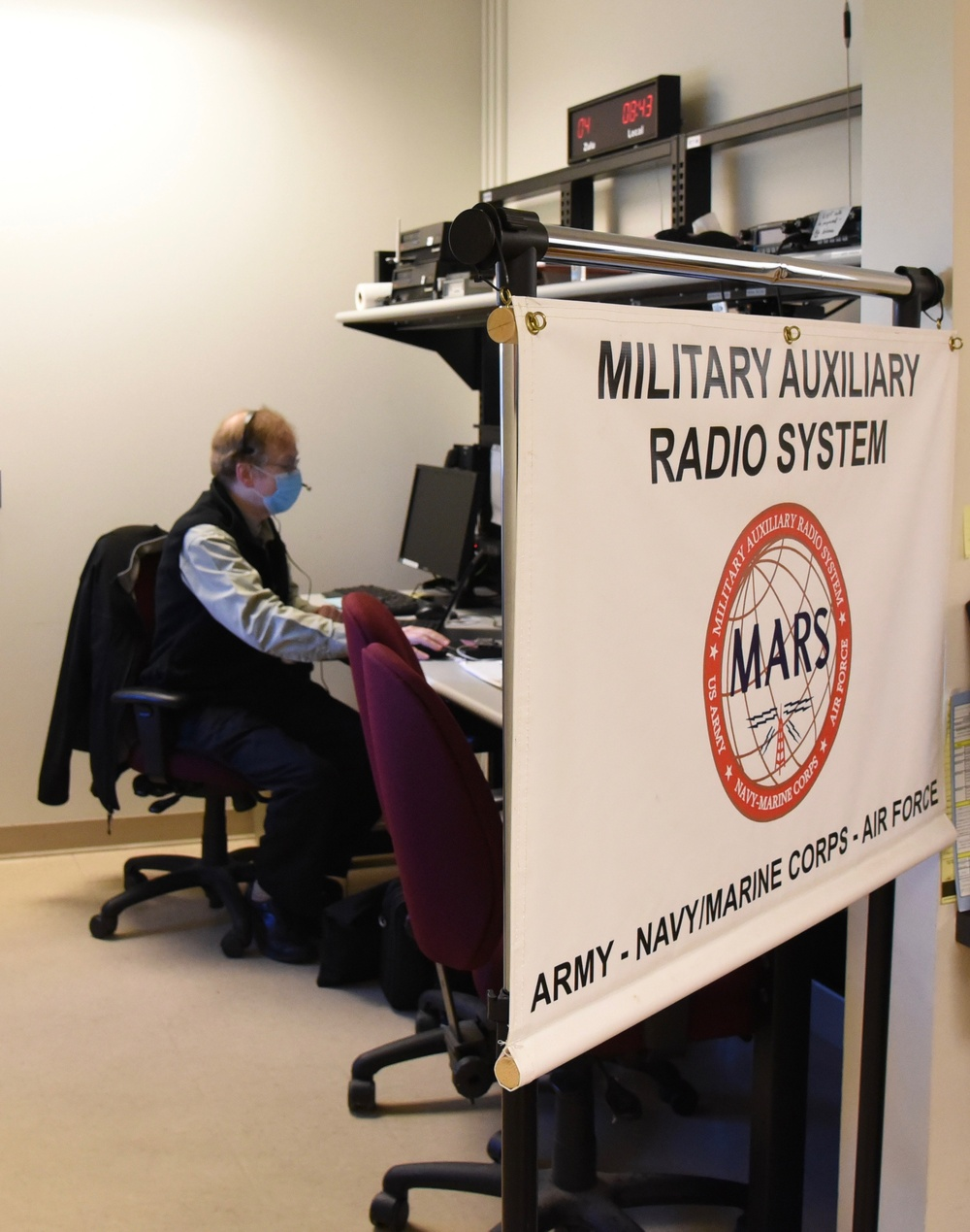 Mars System Operates at Hancock Field