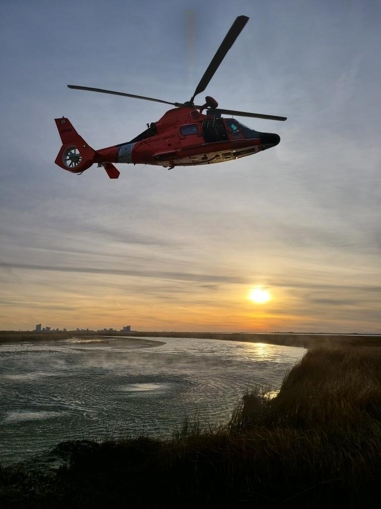 Coast Guard rescues 2 duck hunters stranded near Little Egg Inlet, NJ