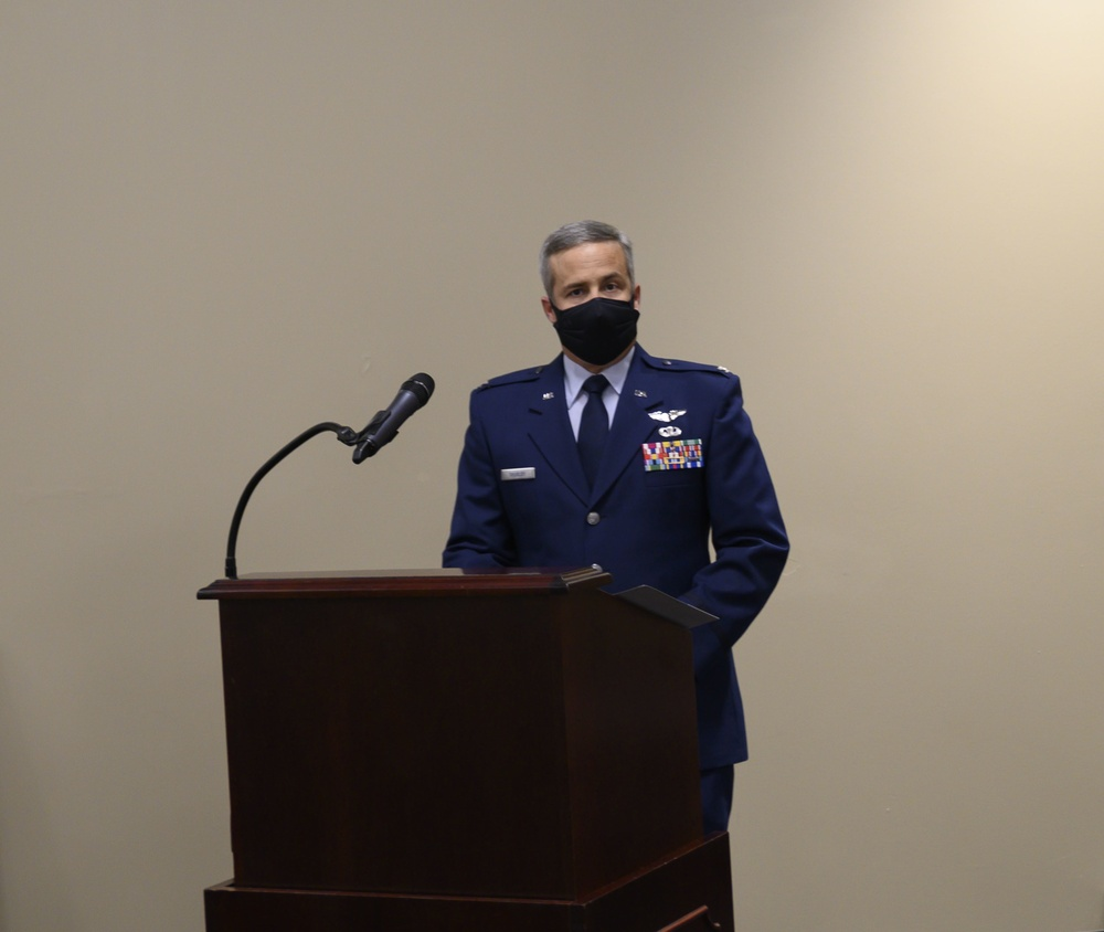 Thurlby takes command of the 188th Medical Group