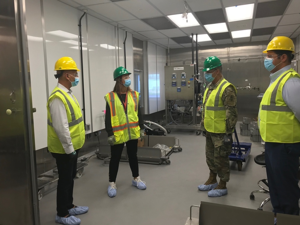 OWS visits manufacturing site