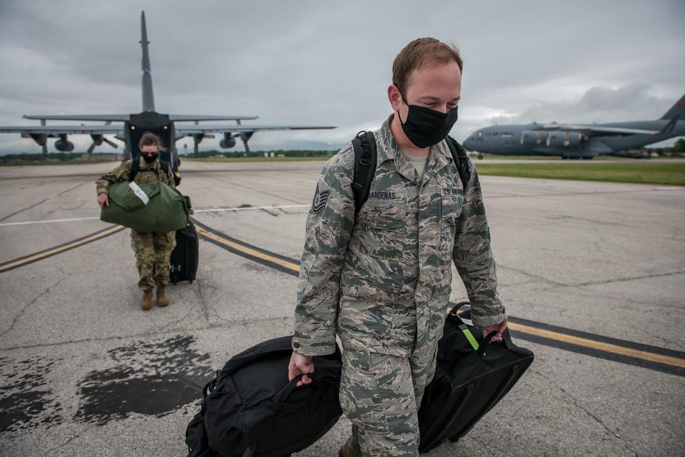 932nd Medical Group Airmen return home