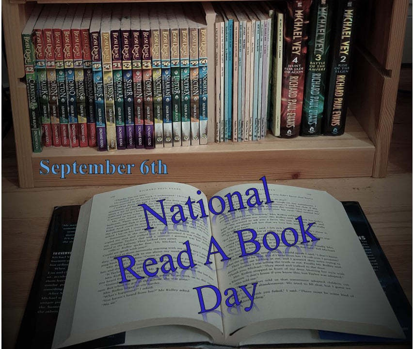 Today is National Read a Book Day
